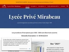 Cours Privé Mirabeau - Mannuaire.net