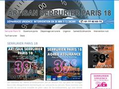 Pose de porte blindée Paris 18 - Mannuaire.net