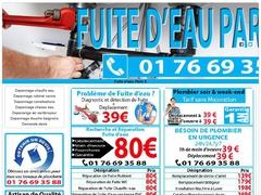 Plombier expert en fuite d'eau pas cher Paris 8 - Mannuaire.net