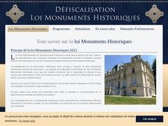 Loi Monuments Historiques - Mannuaire.net