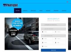 Location de voiture avec Pratique Maroc