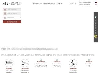 Marrakech Private Resort : Location de villas à Marrakech