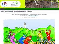Le comité départemental de cyclotourisme de l'Essonne