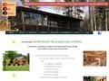 importateur maison bois massif en kit madriers simples ou doubles empilés