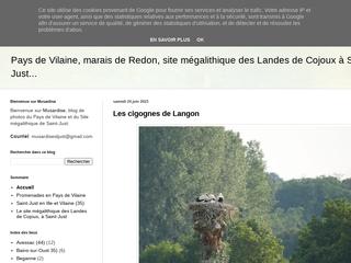 Blog de photos de Saint-Just, en Ille-et-Vilaine, du site mégalithique des Landes de Cojoux,  des  environs et  du Pays de Vilaine