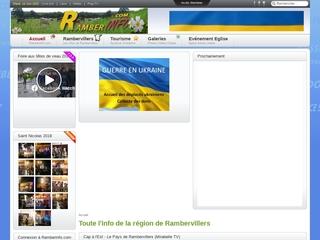 RamberInfo.com - le portail d\'informations de la région de Rambervillers (Vosges)