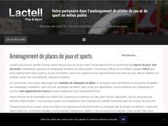 Lactell SA: aménagement pour place de jeu