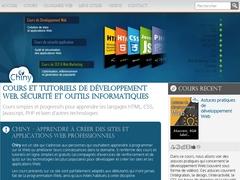 Chiny: cours de développement Web