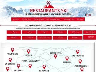 Restaurants-Ski, votre restaurant aux Arcs !