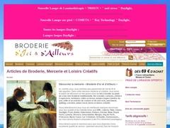 BRODERIE D'ICI ET D'AILLEURS - Mannuaire.net