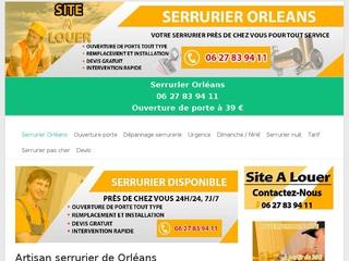 Service SOS serrurerie Orléans