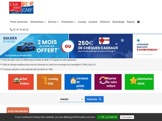 mandataire auto www.clubauto-gmf.com