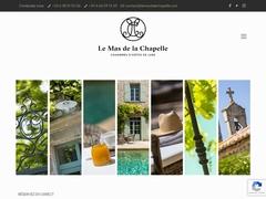 Le mas de la Chapelle - Mannuaire.net