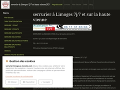 serrurier à limoges - Mannuaire.net