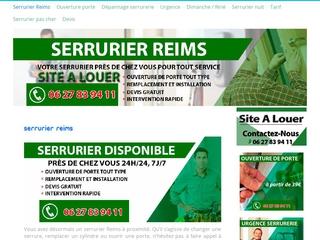 Artisan serrurier expérimenté Reims
