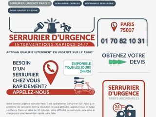 Changement de serrure Paris 7
