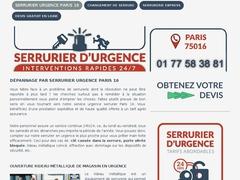Entreprise de serrurerie sur le 16e  de Paris - Mannuaire.net