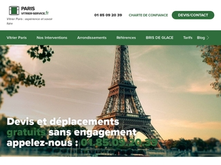 vitrier Paris