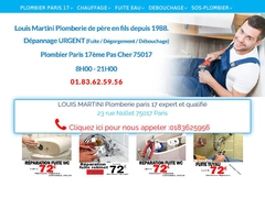 Jeans Louis Plomberie disponible jour et nuit.