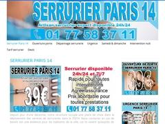 Prestation serrurier pas cher Paris 14 à bas prix - Mannuaire.net
