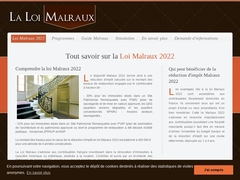 Loi Malraux 2016 - Mannuaire.net
