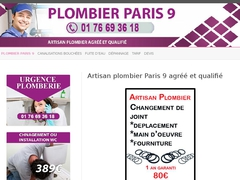 Plombier Paris 9 - Mannuaire.net