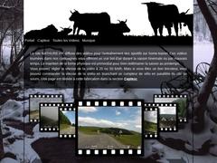 simulateur video pour home-trainer, tourné en forêt dans les vosges
