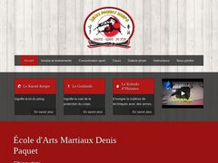 Ecole d'arts Martiaux Denis Paquet