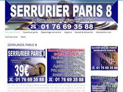 Serrurier à petit prix Paris 8 - Mannuaire.net