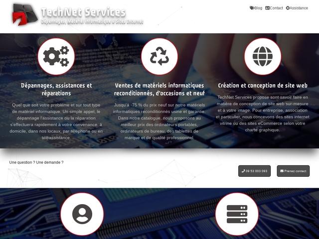 TechNet Services dépannages et matériels informatique
