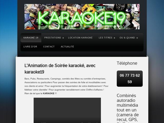 Karaoké 19