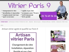 Professionnel vitrier Paris 9 efficace - Mannuaire.net