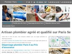 Plomberie Paris 5