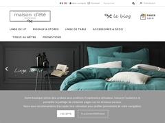 Housse couette lin - Mannuaire.net