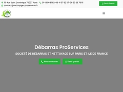 Nettoyage proservices