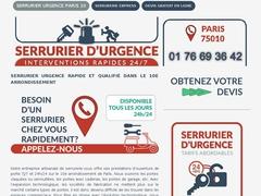 serrurier vacance  Paris 10 - Mannuaire.net