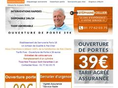 Société de serrurerie Paris 18 pas cher - Mannuaire.net