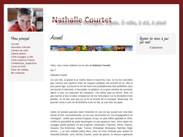 Carnets de voyages et d'expés de Nathalie Courtet