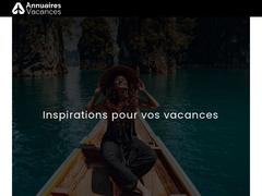 Détails : Annuaire Vacances