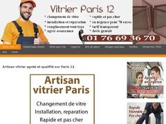 Spécialiste du dépannage vitrerie Paris 12 - Mannuaire.net