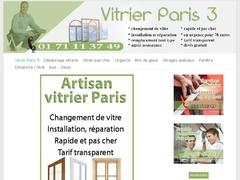 Spécialiste du dépannage vitrerie Parie 3 pas cher - Mannuaire.net