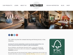 Kaltimber, hardwood decking and flooring - Mannuaire.net