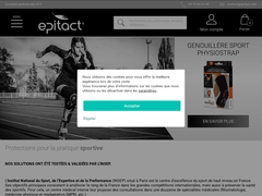 Genouillère rotulienne PHYSIOstrap® Sport - Mannuaire.net