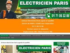 Eltricien pas cher Paris - Mannuaire.net