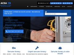 ACSA Serrurier vitrier Haute-Savoie - Mannuaire.net