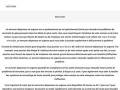 Spécialiste en ouverture de porte sur Paris 9 - Mannuaire.net