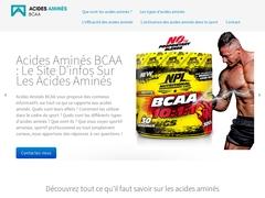 Acides amines bcaa