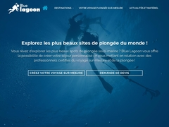 Blue lagoon, plongée sous-marine - Mannuaire.net