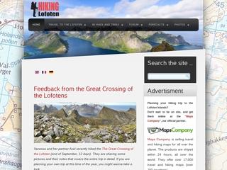 Rando-Lofoten, passionné de randonnée