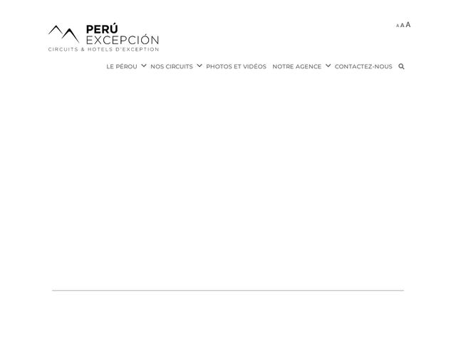 Perú Excepción